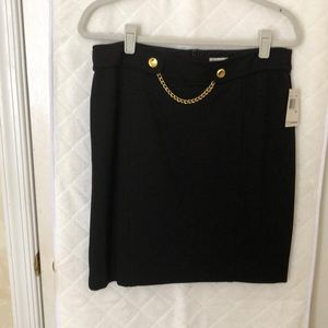 Pointe knit skirt